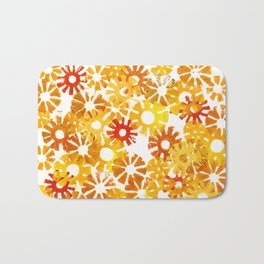 Autumn Sun Bath Mat