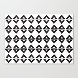 BIG TRIANGLES Canvas Print