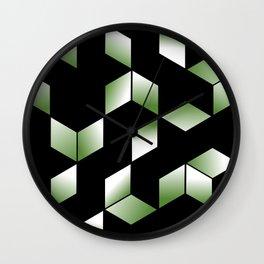 Elegant Origami Geometric Effect Design Wall Clock