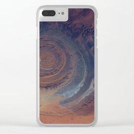 eye in the sky, eye in the desert | space #01 Clear iPhone Case