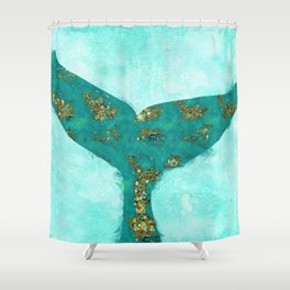 A Mermaid Tail I Shower Curtain