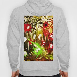 abstraction. fireworks Hoody