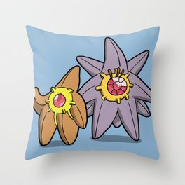 Pokémon - Number 120 & 121 Throw Pillow