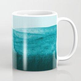 Aqua Watercolor Tide Coffee Mug