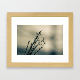A Winter Story Framed Art Print