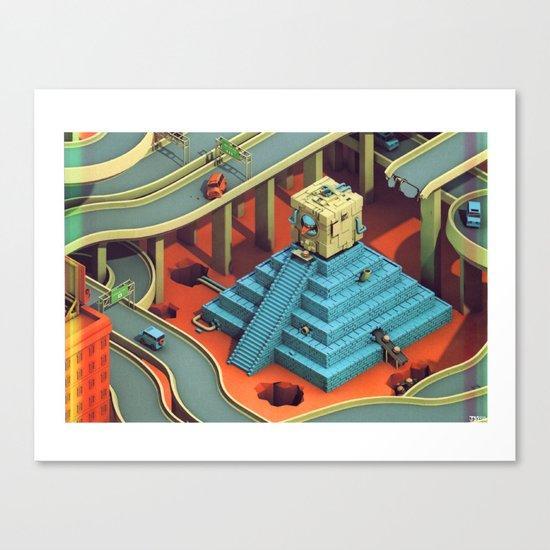 Culture Apparatus @ Exit 7 Canvas Print