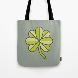 Seven-Leaf Clover Tote Bag
