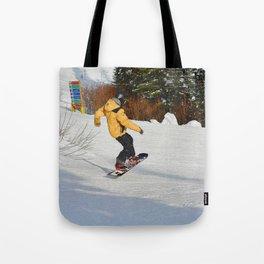 Snowboarding Fool Tote Bag