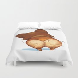 Fat Little Corgi Duvet Cover
