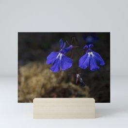 A Pair of Purple Flowers Mini Art Print