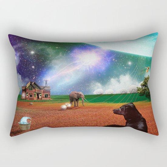 A Most Unusual Evening Rectangular Pillow