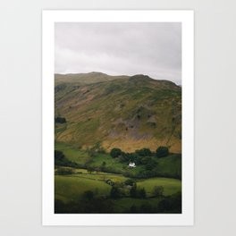 Mountain House Art Print