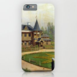 Country House 1892 By Lev Lagorio   Reproduction   Russian Romanticism Painter iPhone Case