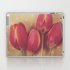 Antique Tulips Laptop & iPad Skin