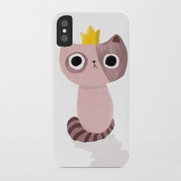 King Kitten iPhone Case