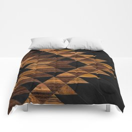 Urban Tribal Pattern 11 - Aztec - Wood Comforters