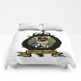 Captain Pug(wash) Comforters