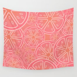 The Grapefruit Salute Wall Tapestry
