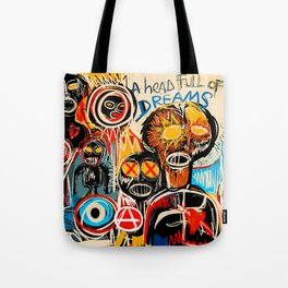 Head full of dreams Tote Bag