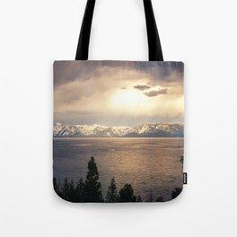 Changing Seasons at Lake Tahoe Tote Bag