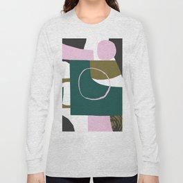 Abstract Damage Long Sleeve T-shirt