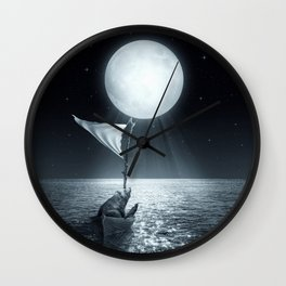 Set Adrift II Wall Clock
