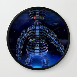 i robot Wall Clock