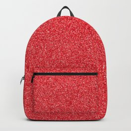 Red sparkles Backpack