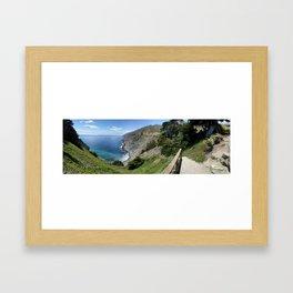Pacific Twist Framed Art Print