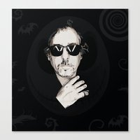 tim burton Canvas Prints featuring TIM BURTON by Rocky Rock