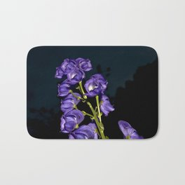 Dark Purple Elegance Bath Mat