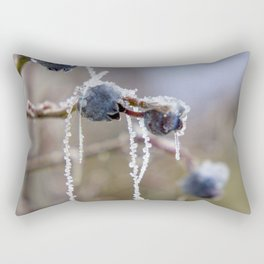 Frozen Berries Rectangular Pillow
