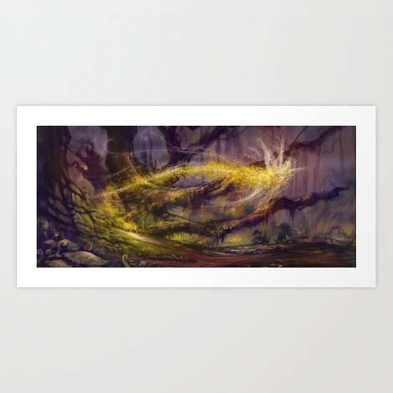 Enchanted II Art Print