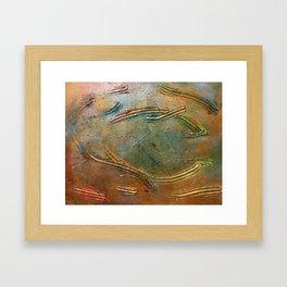 Gold Rush Framed Art Print