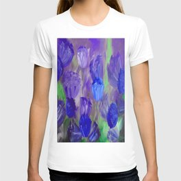 Breaking Dawn in Shades of Deep Blue and Purple T-shirt