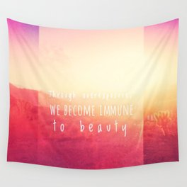 Overexposed Wall Tapestry