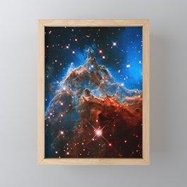 Monkey Head Nebula Framed Mini Art Print