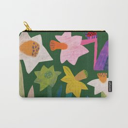 Daffodils and ladybird Carry-All Pouch