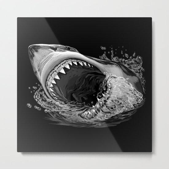 Shark Painting 2 Metal Print