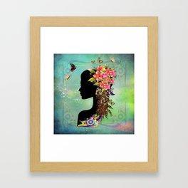 Ladies Fantasy Fashion  Framed Art Print