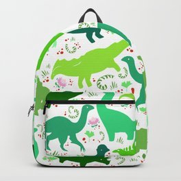Dinosaur Pattern - Little Herbivores Backpack