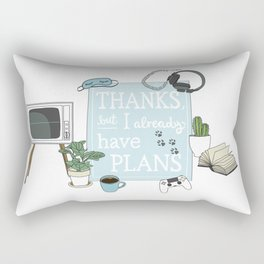Introverts Paradise Rectangular Pillow