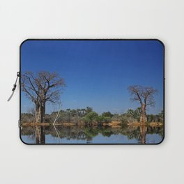 African landscape with baobabs Laptop Sleeve