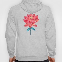 Sacred Lotus – Red Blossom Hoody
