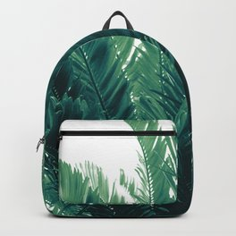 Tropical Leaves Dream #2 #tropical #decor #art #society6 Backpack