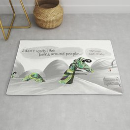 The Loch Ness Introvert Rug