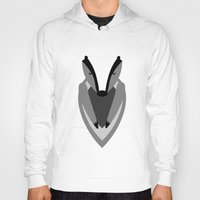 badger Hoodies featuring Badger by Watch House Design