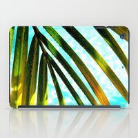 palm tree iPad Cases featuring Palm by Stephanie Stonato