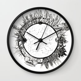 Cosmic Wheel Wall Clock
