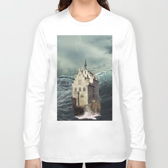 Castle in the sea 2 Long Sleeve T-shirt